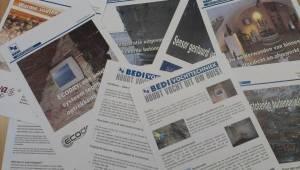 Een deel van onze uitgebreide informatie en folders